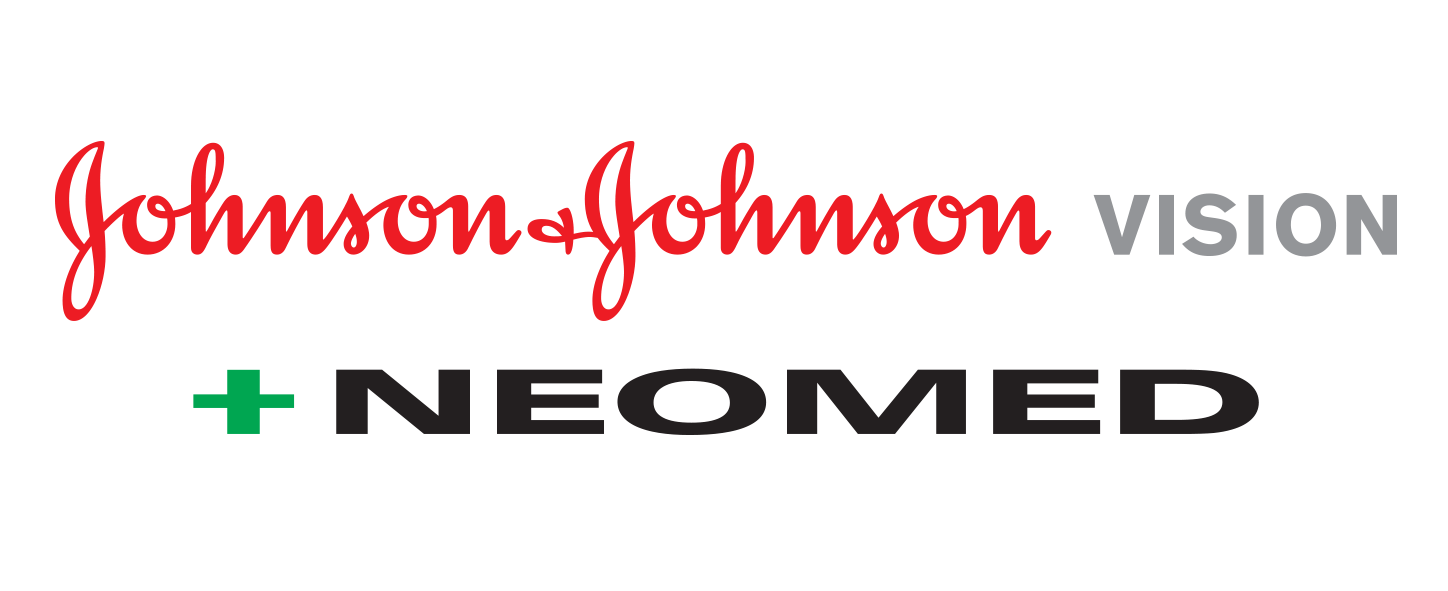 logo Johnson & Johnson Vision + Neomed